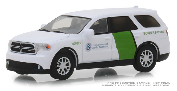 29994 - Greenlight Diecast Border Patrol 2018 Dodge Durango US Customs