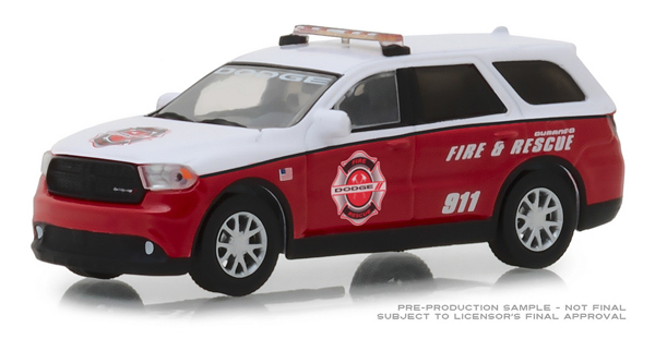 29996 - Greenlight Diecast Fire Rescue 2017 Dodge Durango Special