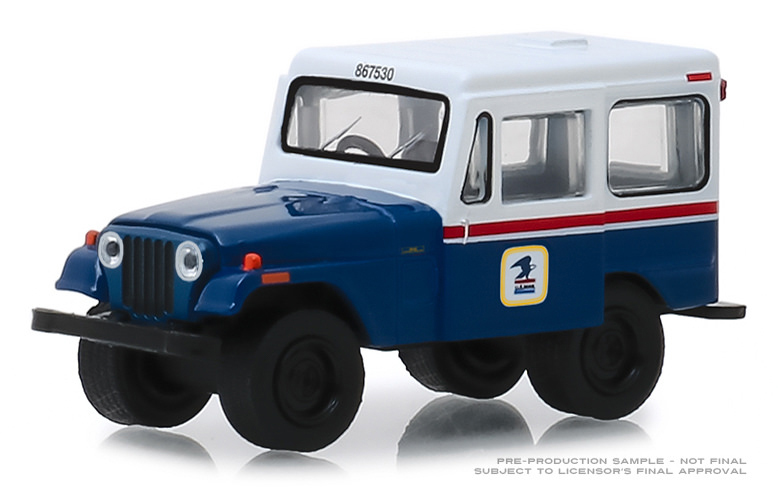 29998 - Greenlight Diecast United States Postal Service 1971 Jeep DJ