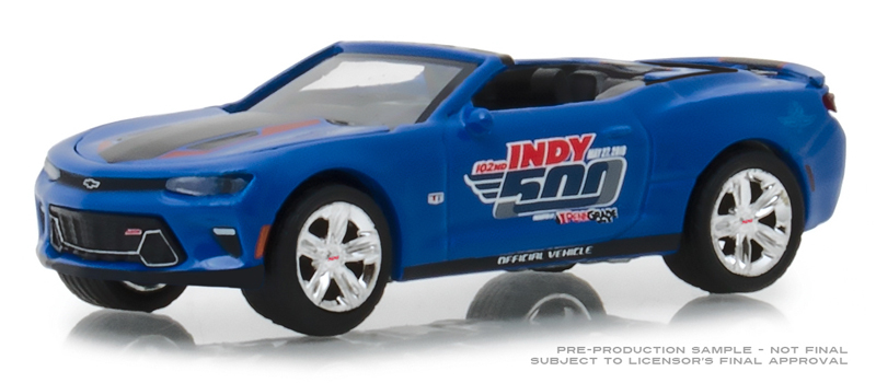 30004 - Greenlight Diecast 2018 Chevrolet Camaro Convertible 500 Festival Event
