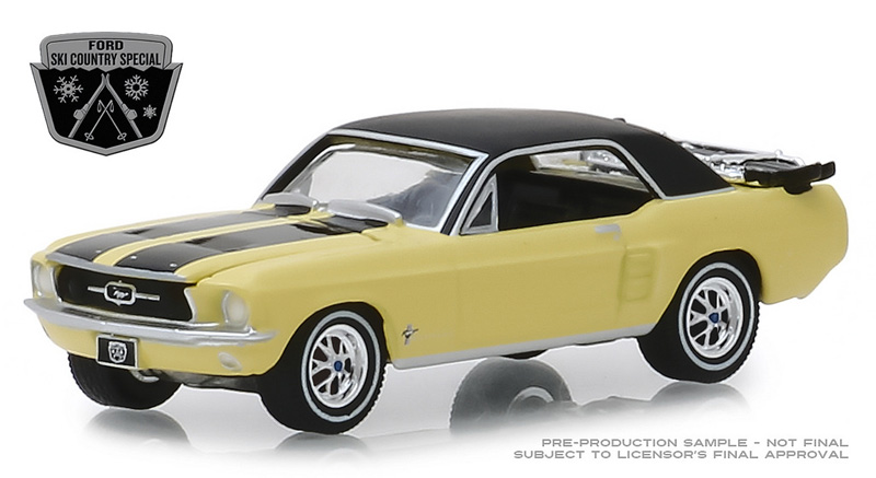 30007 - Greenlight Diecast 1967 Ford Mustang Coupe