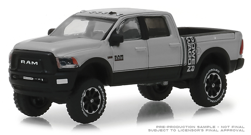 30014 - Greenlight Diecast 2018 RAM 2500 Power Wagon