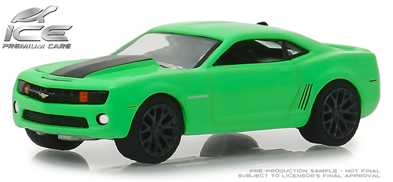 30019 - Greenlight Diecast Turtle Wax 2012 Chevrolet Camaro SS Turtle