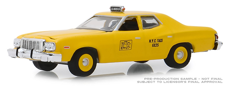 30058 - Greenlight Diecast 1975 Ford Torino New York City Taxi