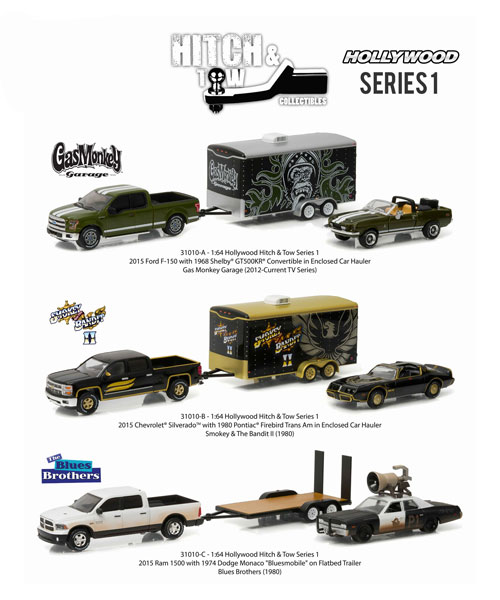 31010-CASE - Greenlight Hollywood Hitch and Tow Series 1