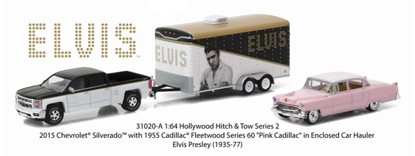 31020-A - Greenlight Elvis 2015 Chevrolet Silverado