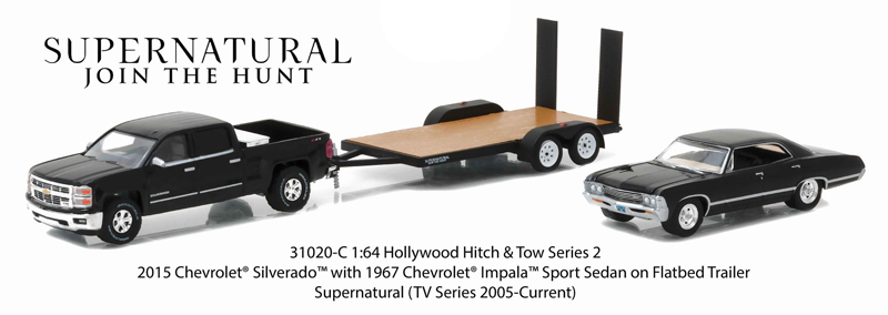 31020-C - Greenlight Supernatural 2015 Chevrolet Silverado
