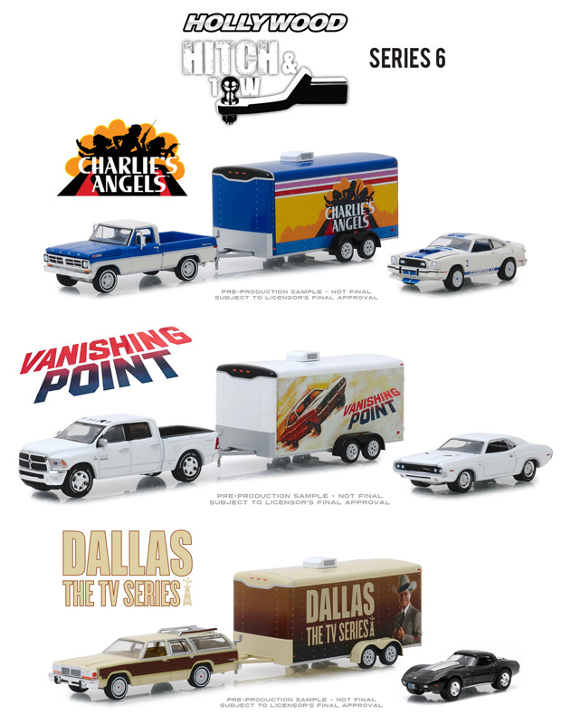 31070-CASE - Greenlight Diecast Hollywood Hitch and Tow Series 6 6
