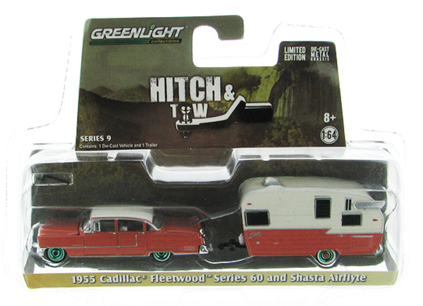32090-A-SP - Greenlight Diecast 1955 Cadillac Fleetwood Series 60 Special and