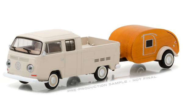 32100-A - Greenlight 1968 Volkswagen T2 Type 2 Double