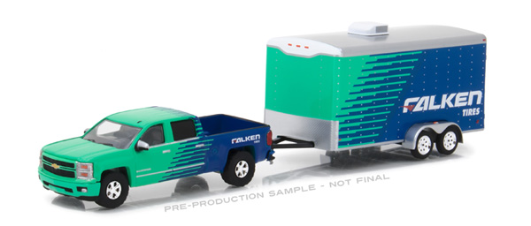 32110-B - Greenlight Falken Tires 2015 Chevrolet Silverado