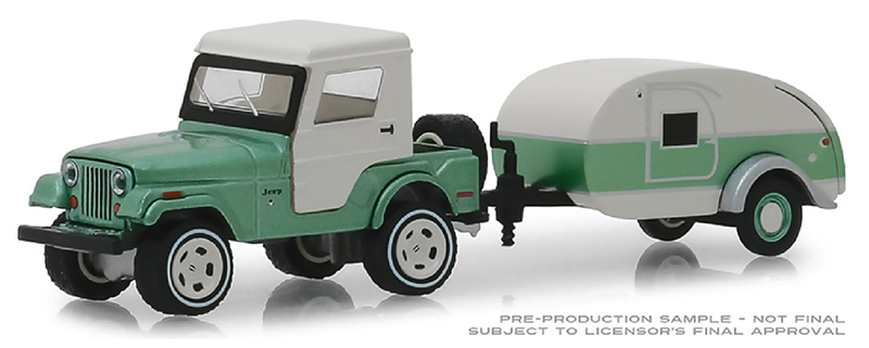 32160-B - Greenlight Diecast 1972 Jeep CJ 5 Half Cab and