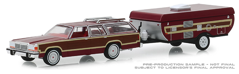 32160-C - Greenlight Diecast 1981 Ford LTD Country Squire and Pop