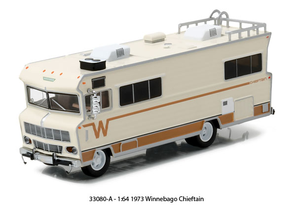 33080-A - Greenlight 1973 Winnebago Chieftain HD Trucks Series