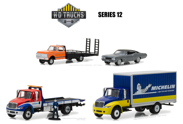 33120-MASTER - Greenlight Diecast Heavy Duty Series 12 48 Piece Master