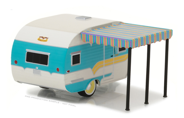 34010-A - Greenlight 1958 Catolac DeVille Travel Trailer