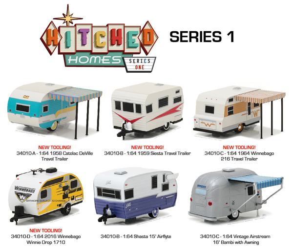 34010-CASE - Greenlight Hitched Homes Series 1 6 Piece