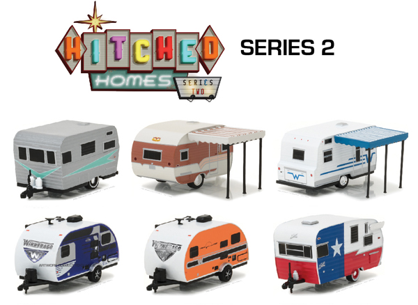 34020-CASE - Greenlight Hitched Homes Series 2 6 Piece