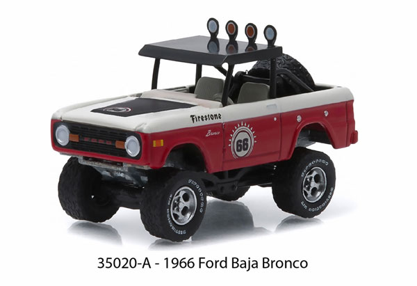 35020-A - Greenlight 1966 Ford Baja Bronco All Terrain