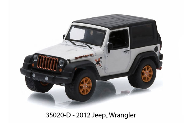 35020-D - Greenlight 2012 Jeep Wrangler All Terrain Series