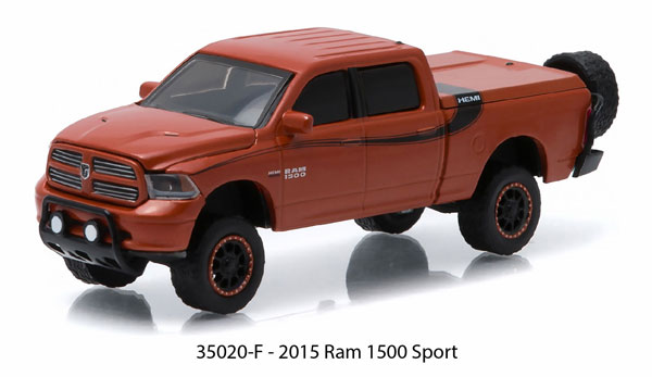 35020-F - Greenlight 2014 Ram 1500 Sport All Terrain