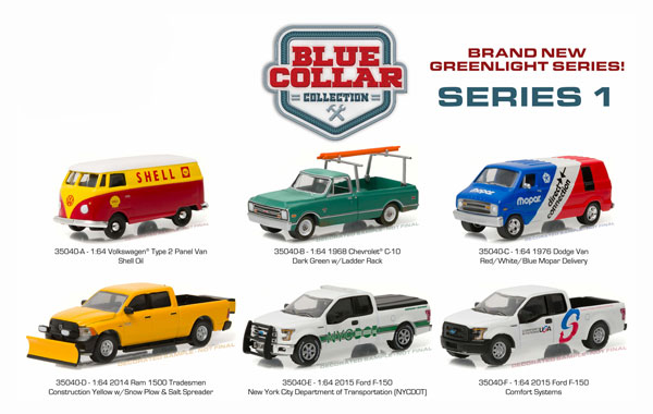 35040-CASE - Greenlight Blue Collar Collection Series 1 6