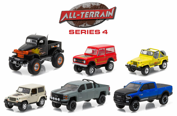 35050-CASE - Greenlight All Terrain Series 4 6 Piece