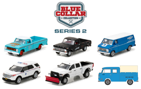 35060-CASE - Greenlight Blue Collar Collection Series 2 6