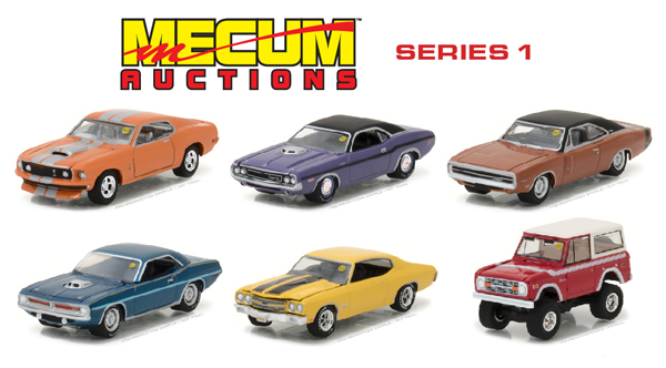 37110-CASE - Greenlight Mecum Auctions Collector Cars Series 1