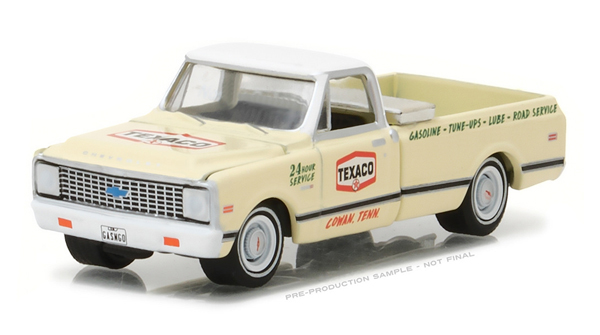 41020-D - Greenlight Texaco 1972 Chevrolet C 10 Pickup