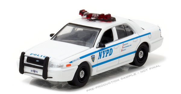 42771 - Greenlight NYPD 2011 Ford Crown Victoria Police