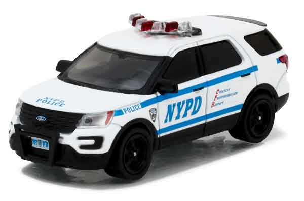 42772 - Greenlight NYPD 2016 Ford Police Interceptor Utility