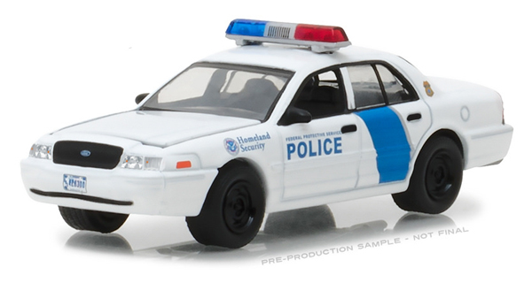 Greenlight diecast homeland security federal protective service greenlight diecast homeland security federal protective service police 2011 aloadofball Choice Image