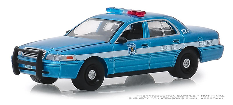 42860-D - Greenlight Diecast Montana Highway Patrol 2001 Ford Crown Victoria