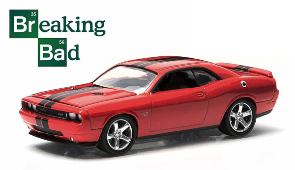 44690-A - Greenlight 2012 Dodge Challenger SRT 8 Walt