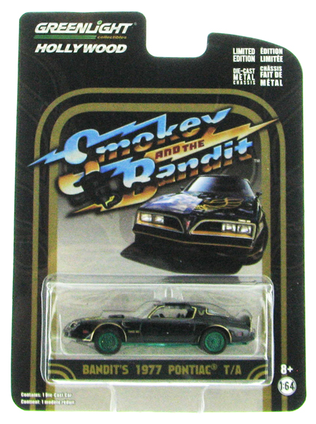 44710-A-SP - Greenlight 1977 Pontiac Trans Am Smokey and
