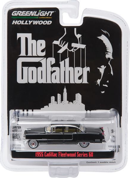 44740-B - Greenlight Diecast 1955 Cadillac Fleetwood Series 60
