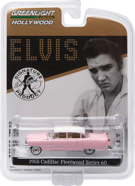 44740-C - Greenlight Elviss 1955 Cadillac Fleetwood Series 60