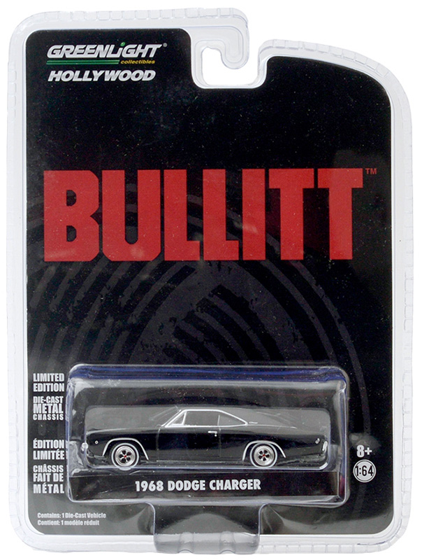 44741 - Greenlight Diecast 1968 Dodge Charger R_T Bullitt 1968 authentic