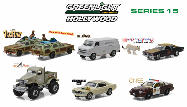 44750-CASE - Greenlight Hollywood Series 15 Six Piece SET