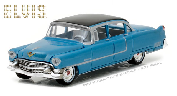 44760-A - Greenlight 1955 Cadillac Fleetwood Series 60 Blue