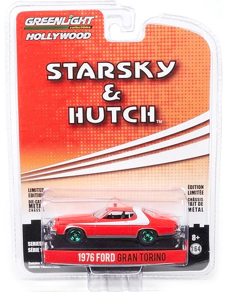44780-A-SP - Greenlight Diecast 1976 Ford Gran Torino Starsky and Hutch