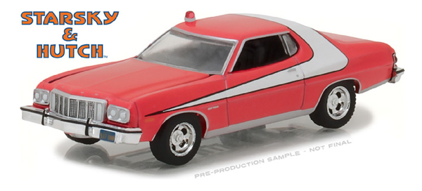 44780-A - Greenlight 1976 Ford Gran Torino Starsky and
