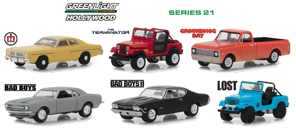 44810-CASE - Greenlight Diecast Hollywood Series 21