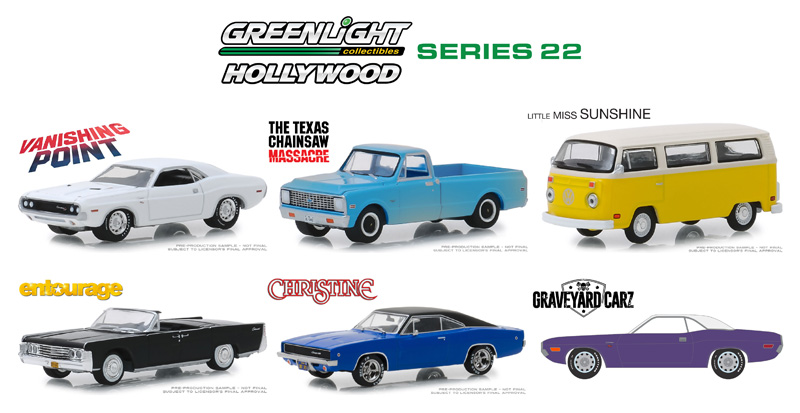 44820-CASE - Greenlight Diecast Hollywood Series 22