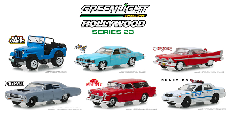 44830-CASE - Greenlight Diecast Hollywood Series 23