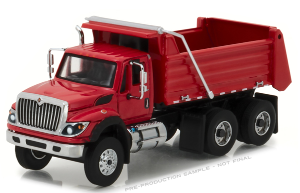45010-A - Greenlight 2017 International WorkStar Construction Dump Truck