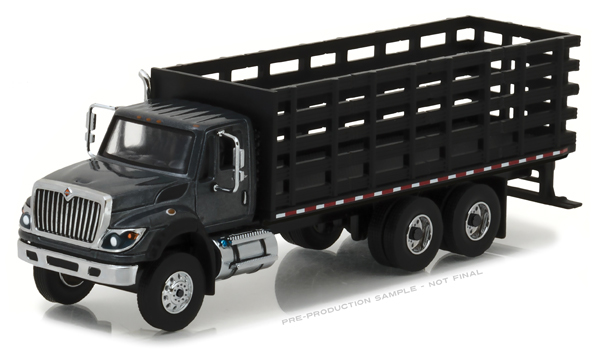 45010-B - Greenlight 2017 International WorkStar Platform Stake Truck