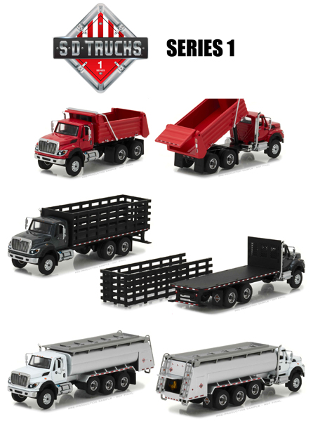 45010-CASE - Greenlight Super Duty Trucks Series 1 6