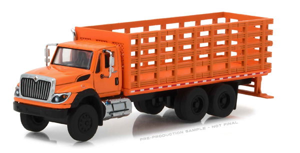 45020-B - Greenlight 2017 International WorkStar Platform Stake Truck